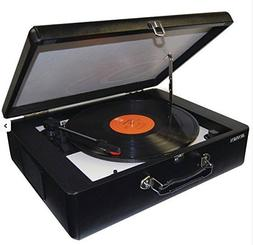Jensen JENJTA420 JTA-420 Portable Turntable with built in Sp