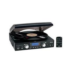 Jensen Jta460 Stereo Turntable 3Speed Mp3 Encoding System