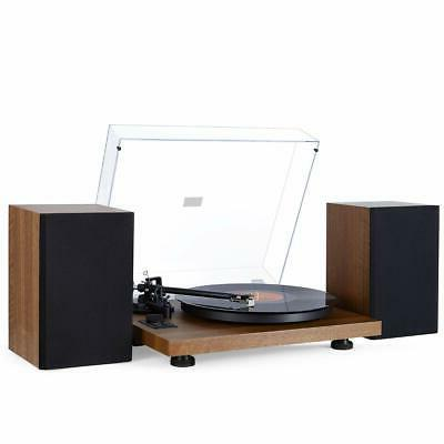 1byone bluetooth turntable hi fi system