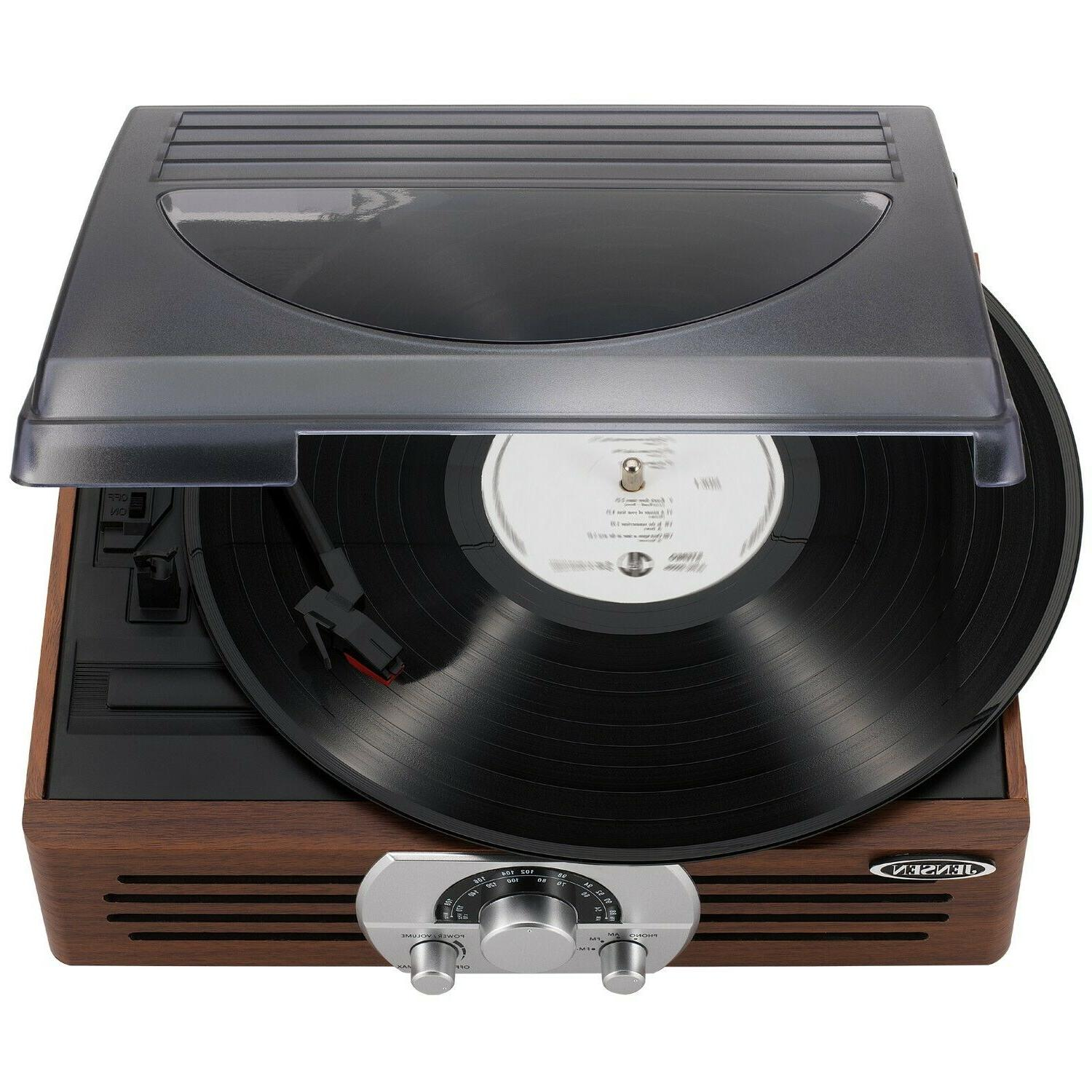 Jensen Turntable with Stereo Brand New!