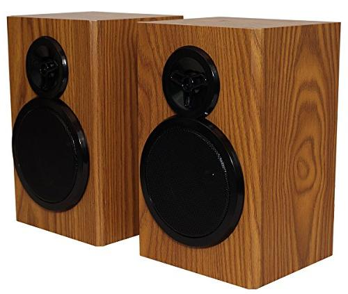 Boytone BT-28SPW, Bluetooth Classic Style with AM/FM Radio, CD / Separate Speakers, from Cassette to Slot,