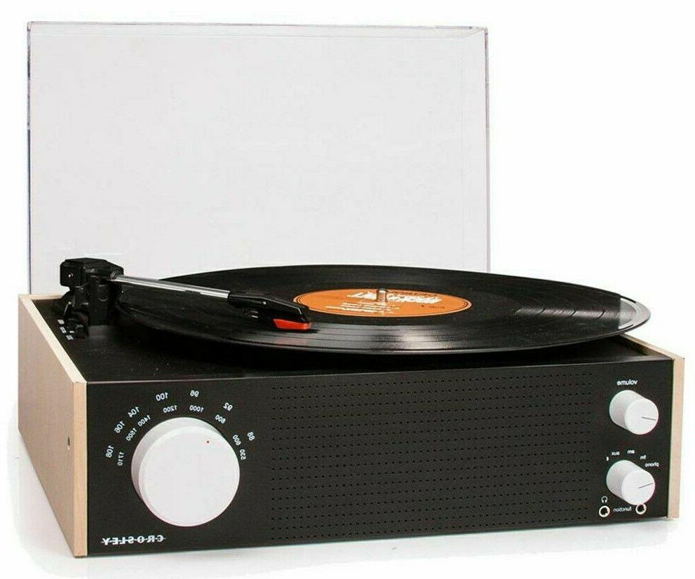 Crosley CR6023A-NA Switch Turntable with AM/FM Radio and Blu