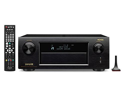 Denon AVR-X5200W 9.2 Network AV Receiver with Wi-Fi, Bluetoo