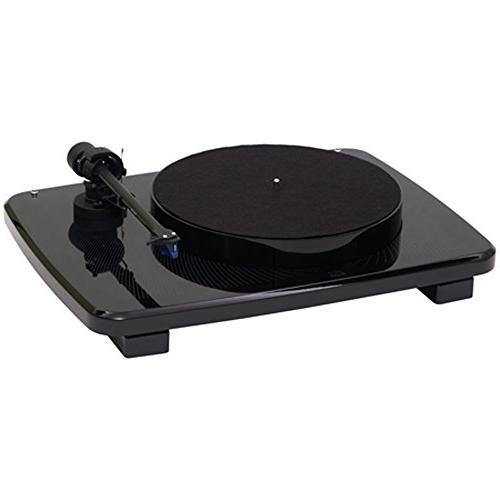 Music Hall IKURA Black Turntable with Ortofon 2M Blue Cartri