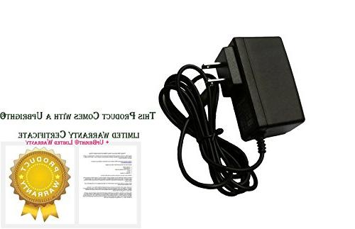 UpBright Global AC/DC Adapter Rega Turntable Cable Wall Battery