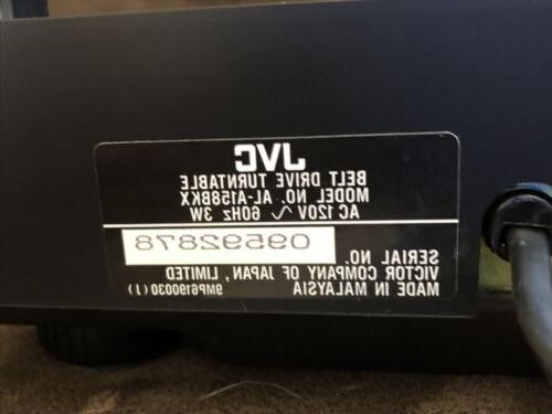 JVC AL-A158BKX Auto System Belt - Tested - Excellent - A/V