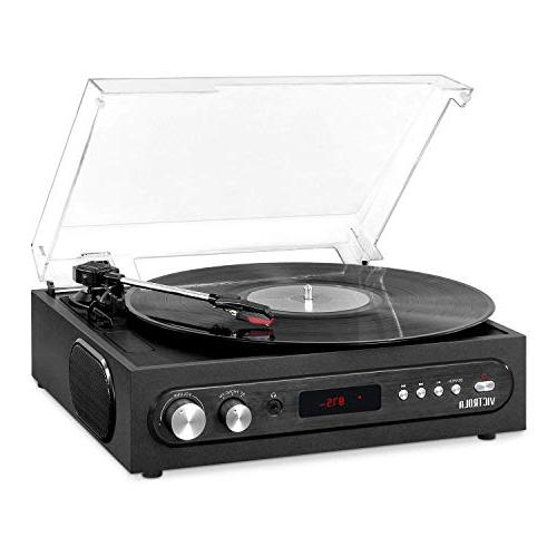 all in 1 bluetooth record player