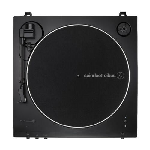 Audio-Technica Turntable with Monitor Pair