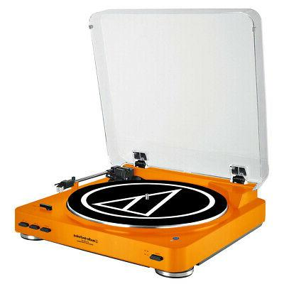 Audio-Technica AT-LP60-BT Fully Bluetooth Stereo Turntable
