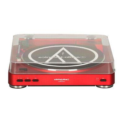 Audio-Technica AT-LP60RD Fully Stereo