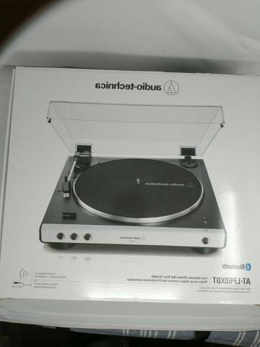 Audio-Technica AT-LP60XBT Automatic Bluetooth Turntable White/Black
