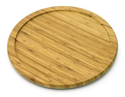 lazy susan bamboo turntable kitchen table top