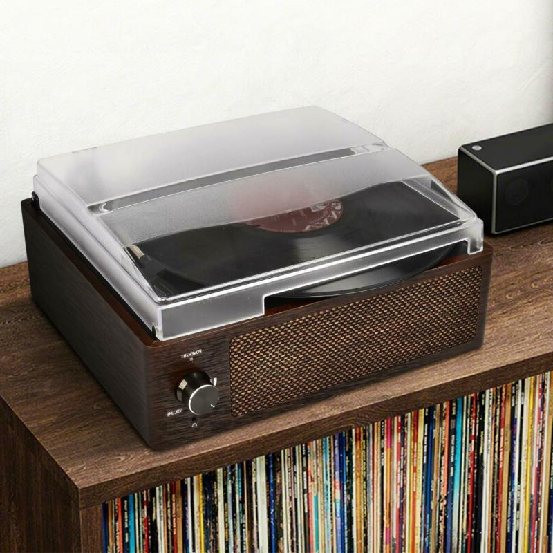 Bluetooth Record Player 3-Speed Turntable, Record