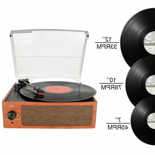 Bluetooth Vintage Record Stereo
