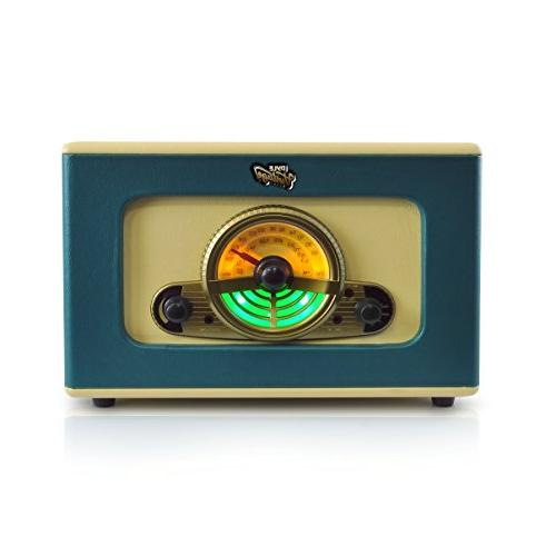 Pyle stereo system   Retro record player player CD Reader, SD Card Slot, and Speakers Jack Record AM/FM Radio