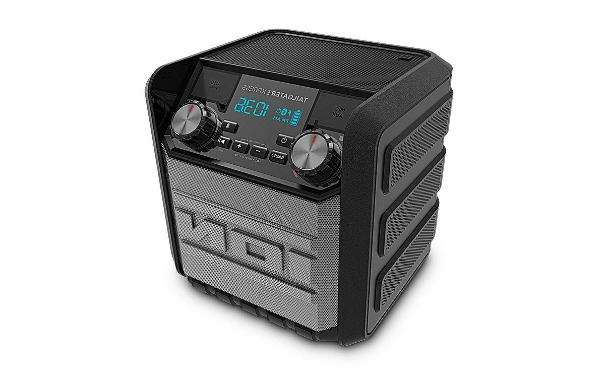 Bluetooth Speaker Stereo Tailgate Summer BBQ Party