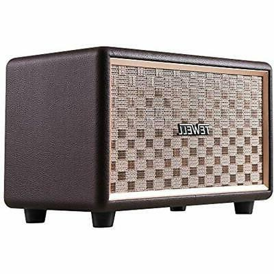 bluetooth speakers bookshelf with 3 5mm aux