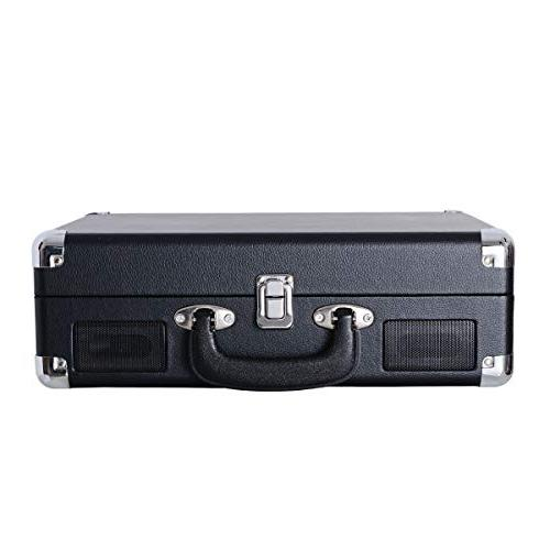 Player Portable Suitcase Built-in Headphone Jack, RCA Out,