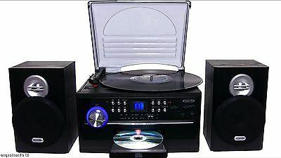 home stereo cd cassette record player turntable