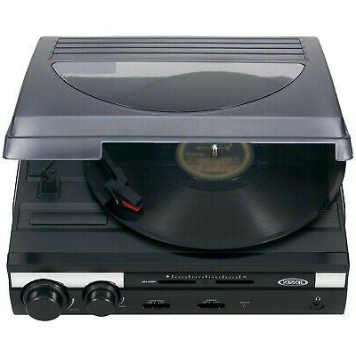 Brand New Jensen 3 Turntable with Built in Speakers