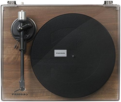 Crosley C6 with Built-in Preamp Adjustable Tone Arm,