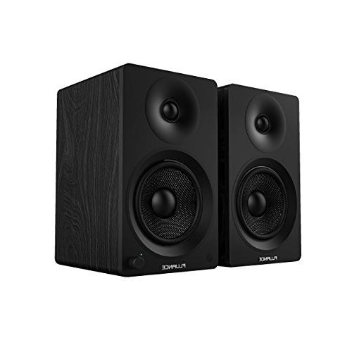 "Fluance Ai40 5"" Bookshelf Speakers with 70W Amplifier PC, HDTV Wireless Music"