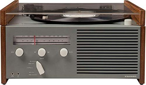 Crosley Belt-Drive with Radio, Aux-in,