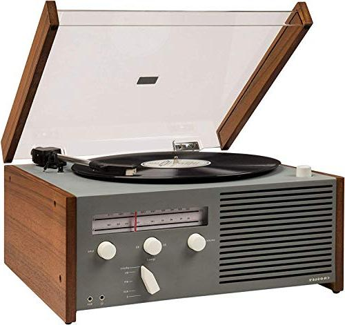 Crosley with AM/FM Aux-in, Built-in Speaker