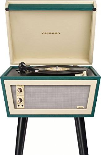 Crosley Sterling Turntable Aux-in, & Cream