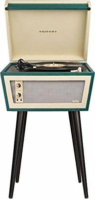 Crosley CR6231A-GR1 Sterling Portable Turntable with Aux-in,