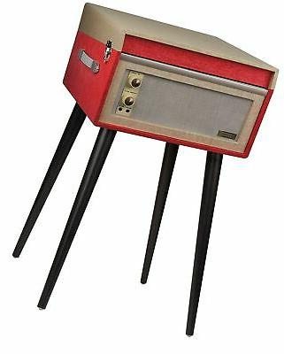 Crosley CR6233D-RE Portable Turntable with