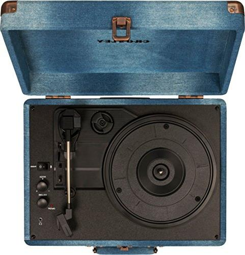 Crosley Deluxe Portable Turntable Bluetooth,