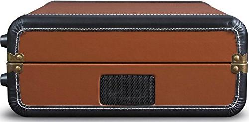 Crosley CR6019D-BR Portable USB Brown