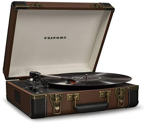 Crosley USB Brown