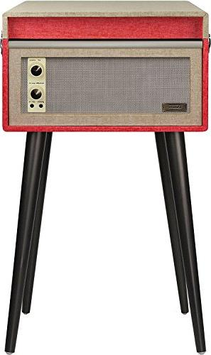 Crosley Portable Turntable with and Bluetooth, Red