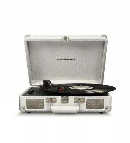 cruiser deluxe 3 speed portable turntable record