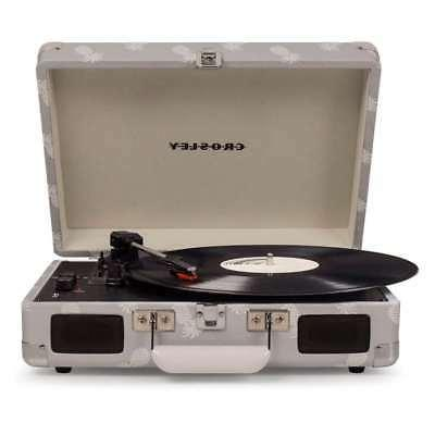 Crosley 3-Speed Turntable with Gray,