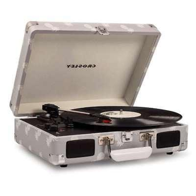 cruiser deluxe portable 3 speed turntable