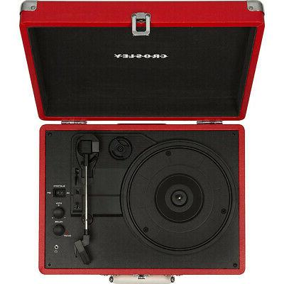Crosley Portable 3-Speed Turntable with CR8005D-RE