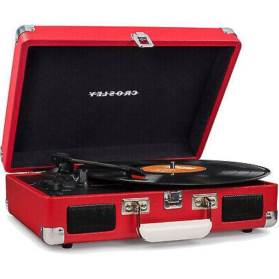 Crosley Cruiser 3-Speed Turntable with CR8005D-RE