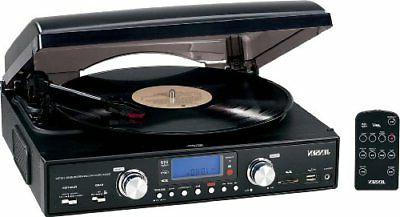 digital 3 speed stereo turntable with mp3