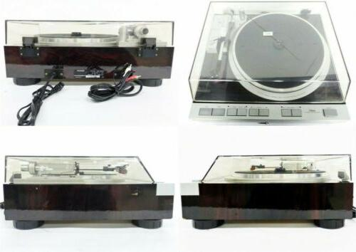 Denon DP-47F Drive Fully Turntable fully tested