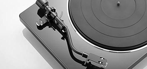 Denon DP400 Turntable with Built-in Sensor with Anti Static Record and Zorro
