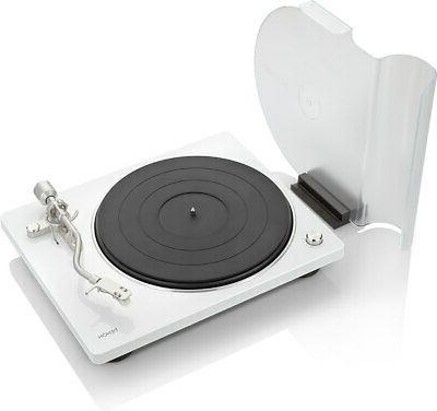dp400 white turntable with speed auto sensor