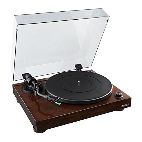 Fluance Elite Vinyl Turntable Stylus, Belt Drive, Preamp with Powered 70W D & aptX Bluetooth Natural