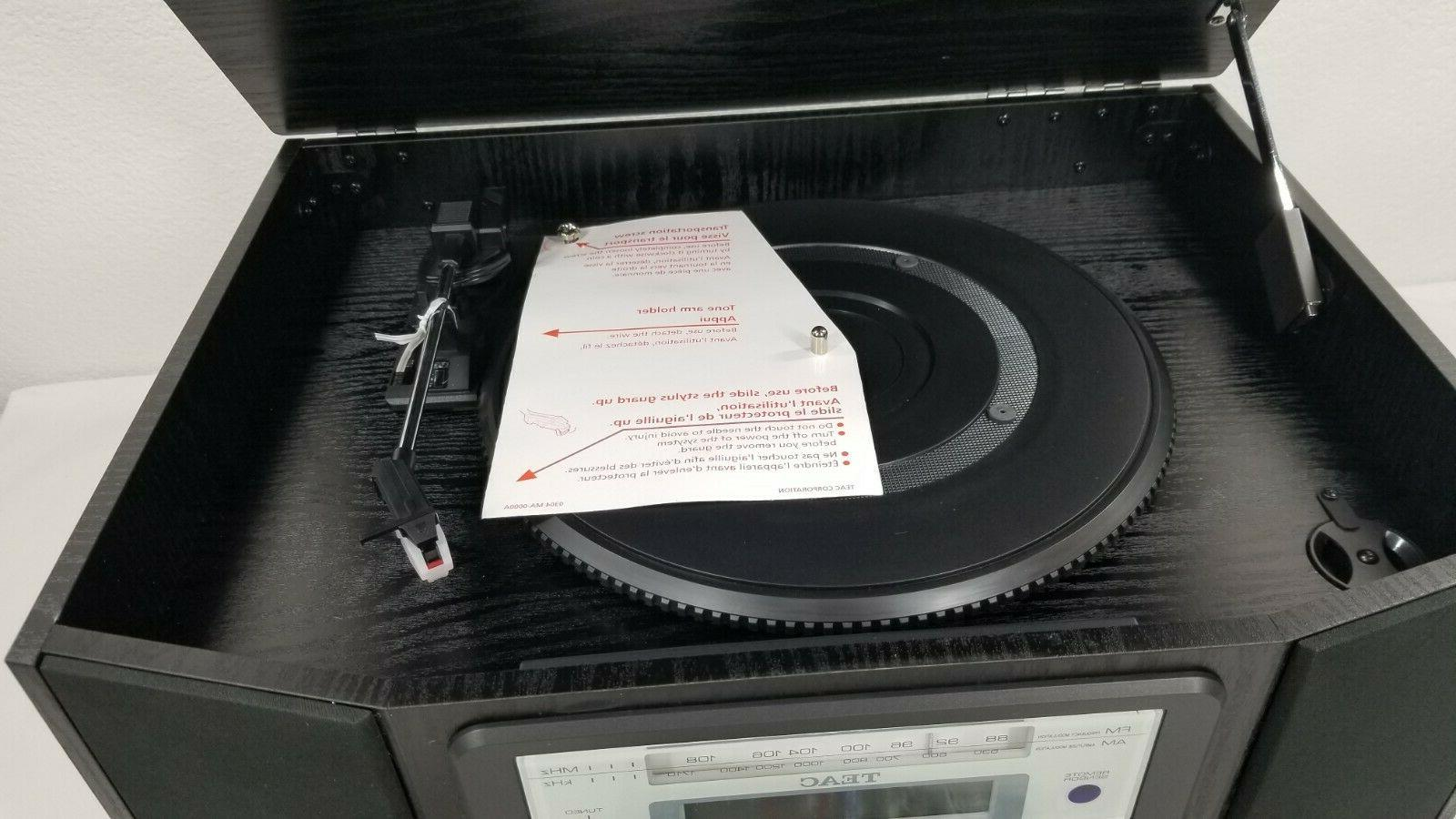 Teac Record Player Turntable Tuner LN