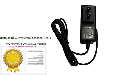 UpBright NEW AC / DC Adapter CR8005D CR8005D-TU CR8005D-TW Cruiser Deluxe 3-Speed Turntable CR8005DBK CR8005DTU