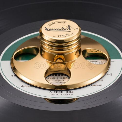 Nobsound Turntable Metal Stabilizer Weight for LP Player