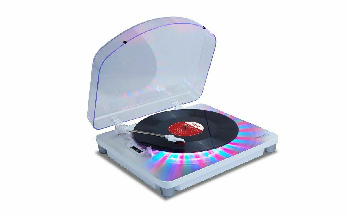 ion photon lp party light turntable