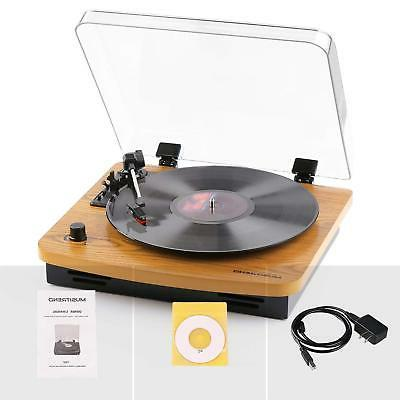 Musitrend LP 3-Speed Turntable Vintage Style RCA